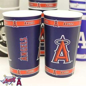 ロサンゼルス・エンジェルス プラスチックロングカップ ANGELS アメリカ輸入品 エンジェルスグッズ aicamu