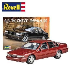 1/25 アメ車 プラモデル 1994 CHEVY IMPALA SS (Revell) シボレー シェビー インパラ ミニカー|aicamu