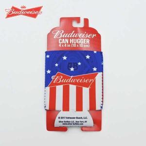 バドワイザー 缶クーラー ビールや缶のドリンクを保温・保冷できる Budweiser ネコポス発送可...