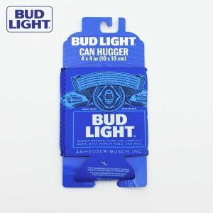 バドライト 缶クーラー ビールや缶のドリンクを保温・保冷できる BUDLIGHT★ネコポス発送可能