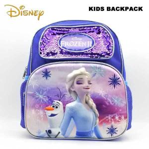 Disney アナと雪の女王 バックパック(2ポケット/Mサイズ約32cm)リュックサック 遠足 子供用 FROZEN アナ雪 エルサ ディズニー 小学生 旅行 aicamu