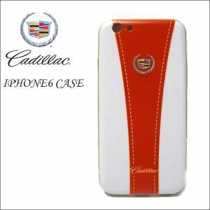 スマホケース【CADILLAC(レッド)iPhone6/6S(アルミバンパー)】スマホカバーキャデラックアメリカ直輸入 アメ車 ネコポス発送可能|aicamu
