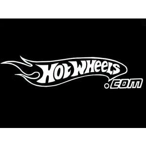 カッティングステッカー HOT WHEELS.com 車 バイク アメリカン MATTELミニカーホットウィールデカール|aicamu