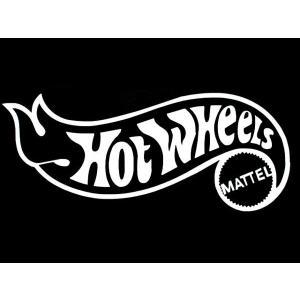 カッティングステッカーHOT WHEELS MATTEL LLサイズ
