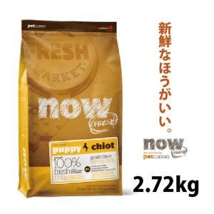 ナウフレッシュ パピー 2.72kg (ドッグフード ドライフード 犬用品)