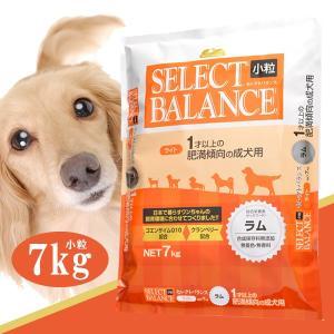 セレクトバランス ライト ラム 小粒 7kg (  ドライフード 犬用品  売れ筋))