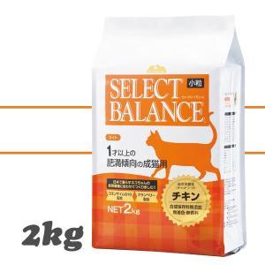セレクトバランス ライト チキン 肥満傾向の成猫用 小粒 2kg キャットフード|aicarrot