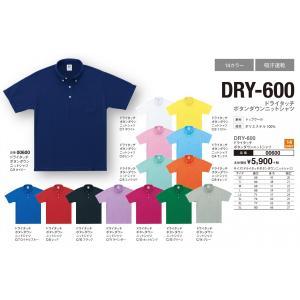 DRY-600ドライタッチボタンダウンニットシャツSS~5L|aichi-embroidery