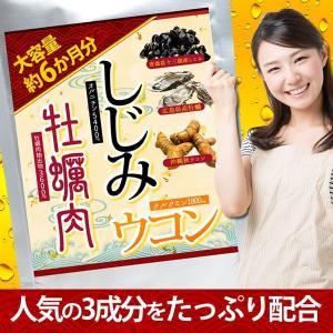 しじみ牡蠣肉ウコン 360粒 約6か月分 送料無料(クロネコDM便・ポスト投函・日時指定不可)