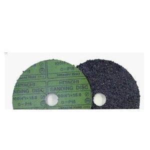 日立工機 サンディングディスク外径100mm x 穴径15mm 粒度:C-P16 入数10枚(品番0031-4051)kyoe|aida-sangyo
