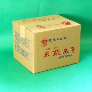 業務用 生詰・伊豆田舎みそ5kg箱入り(0103005)伊豆フェルメンテ|aida-sangyo