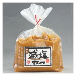 『伊豆みそ』のおいしさ、塩分を20%カット。減塩伊豆みそ 田舎750g/1箱10個入り(0113750)伊豆フェルメンテ|aida-sangyo