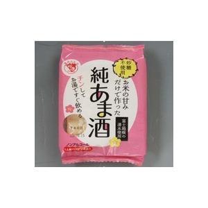 お米の甘みだけで作った純あま酒55g×4食【個食】x12袋入り1箱(1251054N)伊豆フェルメンテ|aida-sangyo