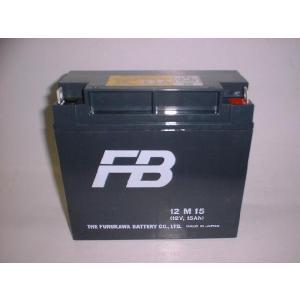 12M15B(12M15)12V15Ah小形密閉形鉛蓄電池・古河電池|aida-sangyo