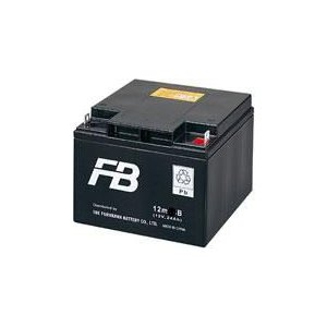 12m38B(12V38Ah)小型制御弁式鉛蓄電池・古河電池