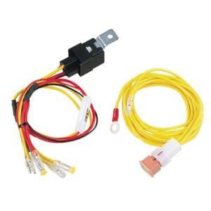 高出力等の リレー付DC12V消費電流30A/3m電源ケーブル品番(2049)amon|aida-sangyo