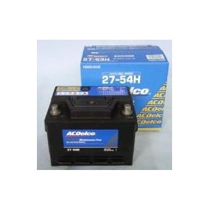 LBN2(27-54H/27-55)ACDelco欧州車用(ポルシェ、フォルクスワーゲン)バッテリー(nbc)|aida-sangyo