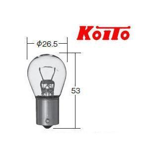 一般自動車電球 方向指示灯・後退灯・表示灯用(24V21W)入り数10(品番4672)小糸製作所(hita)|aida-sangyo