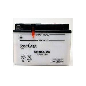 6N12A-2C(電圧:6V/容量:12Ah)開放型GSユアサバッテリー
