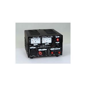 安定化電源(定電流型保護回路内蔵)AC100V/DC0〜15V10A(最大12A)(品番DPS-1012M)agrus|aida-sangyo