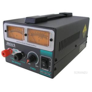 安定化電源(定電流型保護回路内蔵)AC100V⇒DC5〜15V30A「SS-330Wの後継機種」(品番DPS-3012M)argus|aida-sangyo