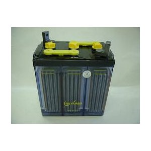 HS-50-6E(6V50Ah)触媒栓付GSユアサ据置鉛蓄電池(miya)|aida-sangyo