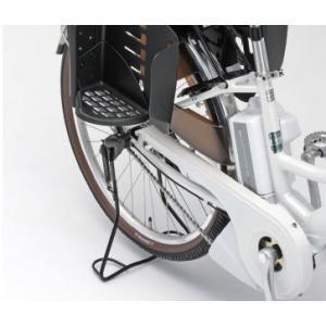 ヤマハ電動アシスト自転車用・軽い力でスタンドがかけらる・かるっこスタンド シルバー(Q5KYSK051H01)/ブラック(Q5KYSK051H02)|aida-sangyo