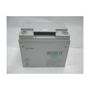 REH40-12(12V40Ah)小形制御弁式鉛蓄電池GSユアサ 受注生産品(miya)|aida-sangyo