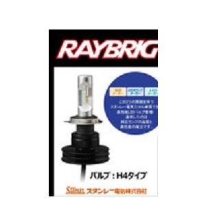 RAYBRIG(レイブリック)ヘッドランプ用LEDバルブ 二輪用 12V 21/21W H4 ホワイト (品番RK21)emp|aida-sangyo