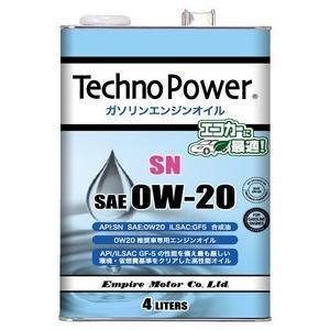 ガソリン車用エンジンオイルSN 0W20推奨車用4L(TP-L4101)エンパイヤ aida-sangyo