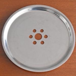 蒸し板 / ステンレス蒸し板28cm / 蒸し板外径28.5cm / 底外径25cmまでのせいろで使用可 / せいろ用蒸し板 / 蒸篭用 / 蒸し台 / 国産 日本製【代金引換不可】|aidca