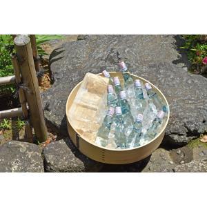 ★限定生産品★曲げわっぱのたらい桶 / 日本製の大きい桶に、ラムネやお酒、野菜などをディスプレイするとおしゃれに!お庭やテラスで、BBQやパーティに。|aidca