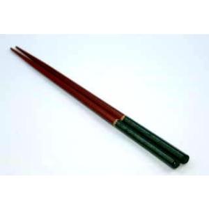 会津塗 五角箸(緑)|aidunomegumi