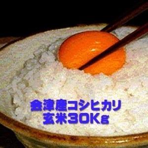 令和元年 福島県会津産コシヒカリ 玄米30kg(精米無料)|aidunomegumi