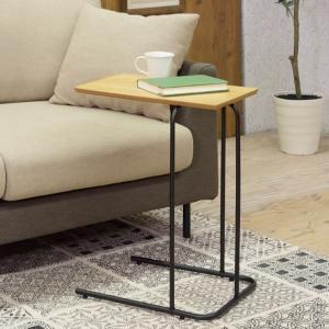 サイドテーブル SALE30%OFF メーカー直送 代引不可 同梱不可 返品不可 アーロン サイドテーブル NA     aifa