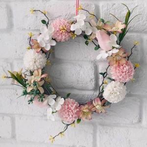 花束 アレンジメント 母の日 誕生日 バレンタイン ホワイトデー ギフト 花 新築祝い フラワー 送別会 お祝い 花 ソープフラワーリース   aifa