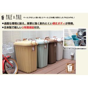 ダストボックス ごみ箱 ゴミ箱 ガーデン おしゃれ 日本製PALE×PALEsp-iwly4010 ...