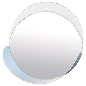 CURL WALL MIRROR WHITE sp-wkm213wh