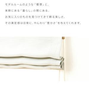 ローマンシェード ダブル 送料無料/1級遮光 遮熱 防炎 全25色 オーダーダブルシェード「luonto(ルオント)」【幅61〜90cm×丈40〜120cm】|aiika|10