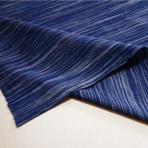藍染雨絣楊柳(AM20205022)|aiira-ensyu