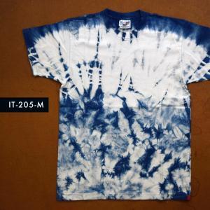 藍染めTシャツ Mサイズ(IT-205-M)|aiira-ensyu
