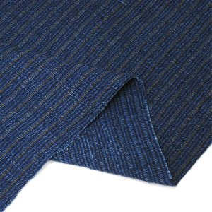 藍染切替茶縮み(KR16223110)|aiira-ensyu