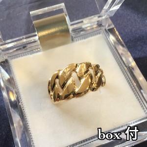 K18 喜平 デザイン リング レディース メ...の詳細画像3