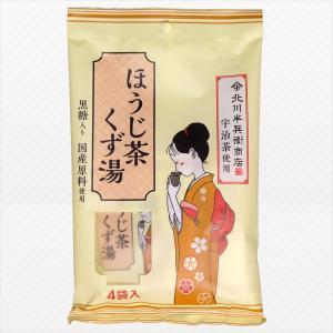 ほうじ茶くず湯 黒糖入り 16g×4袋 日東食品工業