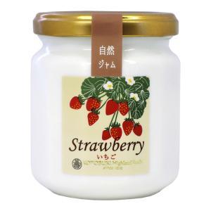 寿高原食品 自然ジャム いちご 220g 栃木県産とちおとめ使用|aijyoclubecolo