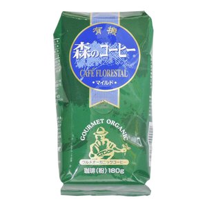 カフェーパウリスタ 有機森のコーヒー 180g|aijyoclubecolo