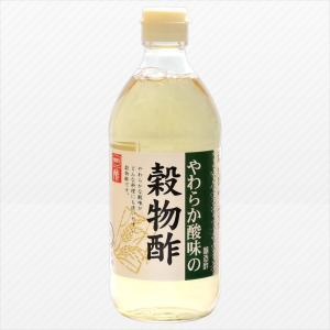 内堀醸造 やわらか酸味の穀物酢 500ml|aijyoclubecolo
