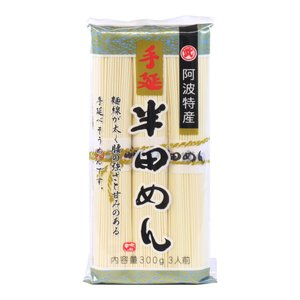 半田麺 小野製麺 阿波特産 手延べ半田めん 300g|aijyoclubecolo