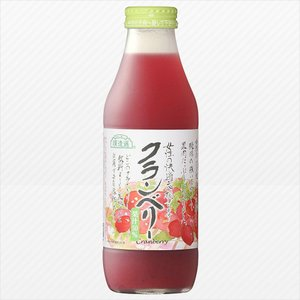 クランベリージュース 果汁50% 500ml マルカイ|aijyoclubecolo