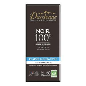 ダーデン 有機チョコレート ダーク カカオ100% 70g アルマテラ